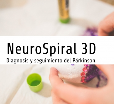 NeuroSpiral 3D, Diagnosis y seguimiento del Párkinson; Diagnosis and monitoring of Parkinson's